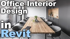 Office Interior Design in Revit tutorial