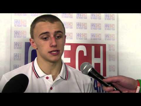 CZE - FIN (U20) - Jakub Vrána: Tým ukázal charakter