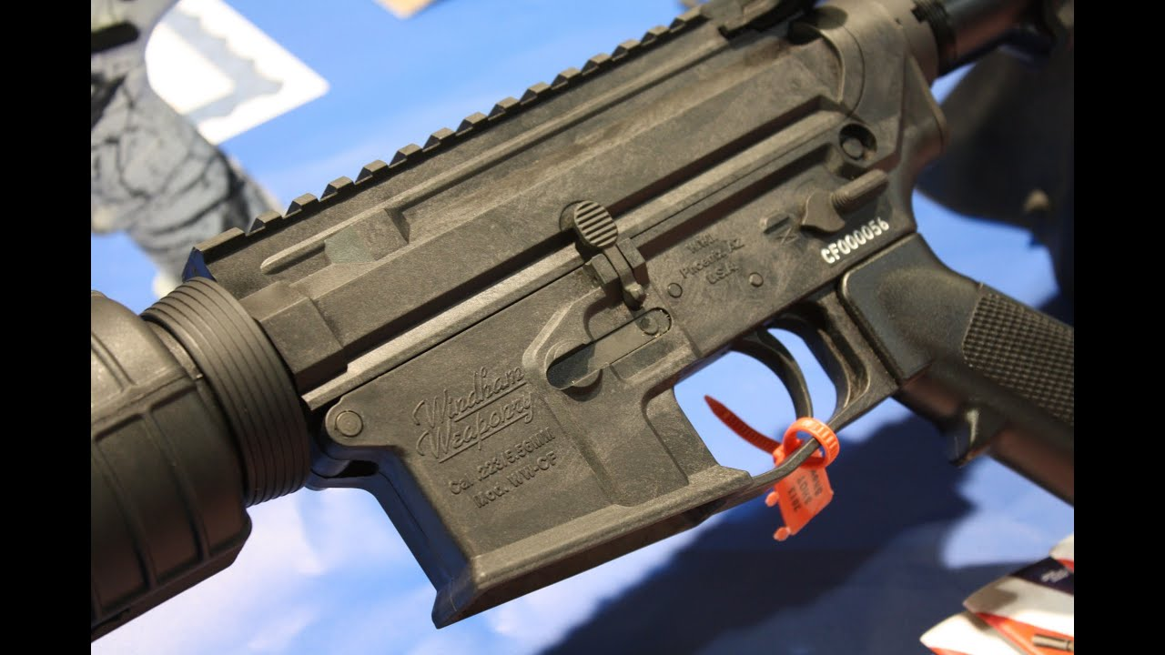 new windham weaponry carbon ar 15 shot show 2013 youtube