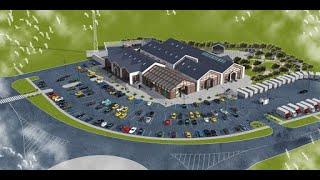 Ландшафтное проектирование торговых зданий
