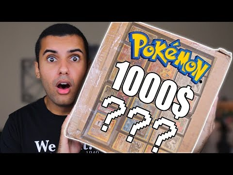 I BOUGHT SOMEONES ENTIRE POKEMON CARD COLLECTION FOR 1000$!!