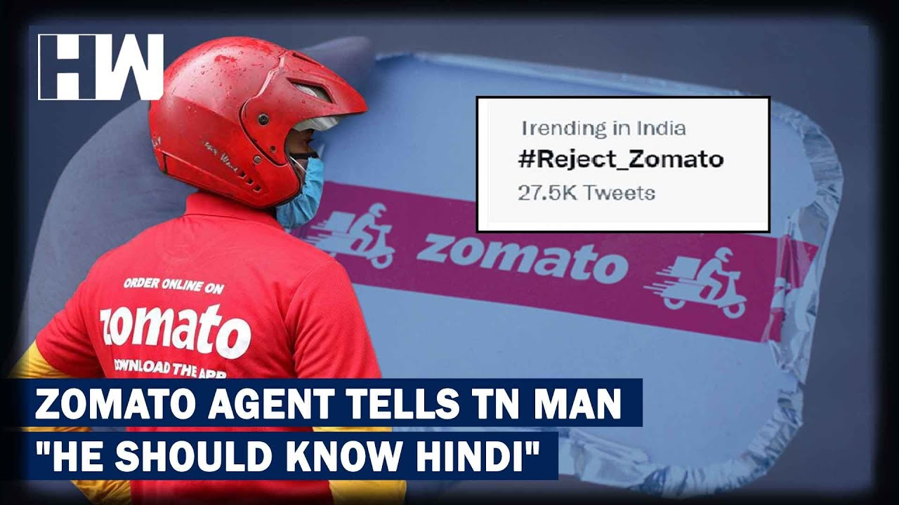 "Download Zomato Agent's ""Hindi"" Lesson To Tamil Nadu Customer Prompts Boycott Calls| Hindi Imposition"