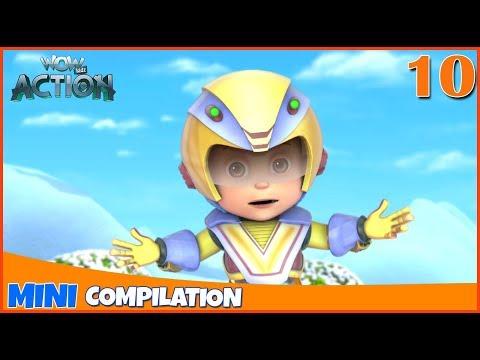 Vir The Robot Boy | Mini series | Compilation - 10 | 3D cartoon for kids | WowKidz Action