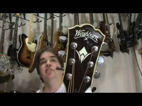 6 Acoustic Guitars. Blind Tone Test (ANSWERS) By Scott Grove