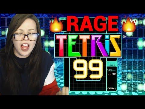Tetris 99 RAGE MONTAGE
