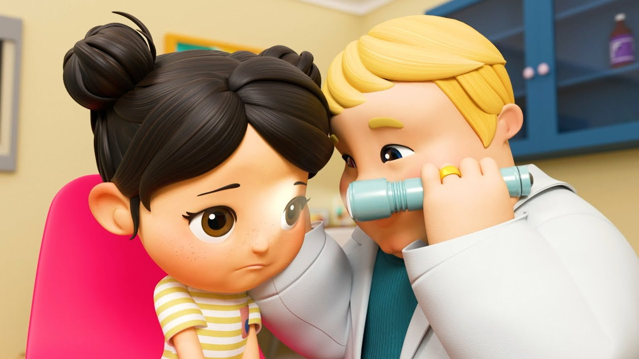 Going to the Doctor's  | @Boo Boo Kids - Nursery Rhymes & Kids Songs |  Little Baby Bum