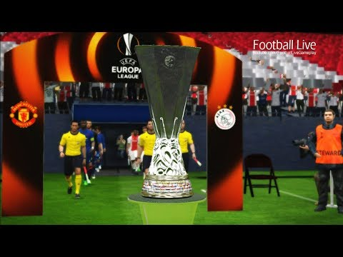 PES 2017 | Ajax vs Manchester United | Final UEFA Europa League | Gameplay PC