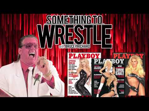 Bruce Prichard shoots on Sable posing for playboy 3 times