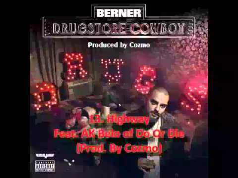 Berner - Drugstore Cowboy (Full Album & Song Title)