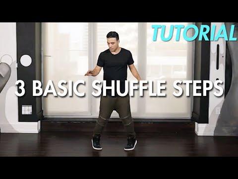 How to do 3 Basic Shuffle Steps (Hip Hop Dance Moves Tutorial)   Mihran Kirakosian