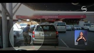 Aumentan robos de llantas en estacionamientos de locales comerciales - CHV NOTICIAS