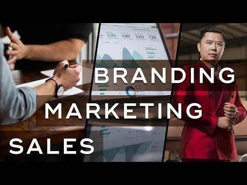 The Differences Between Sales, Marketing & Branding - Personal Branding Ep. 2