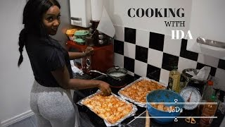 COOKING WITH IDA || BOOTY AND CHICKEN WINGS!!!
