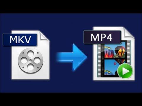 MKV in MP4 konvertieren / umwandeln