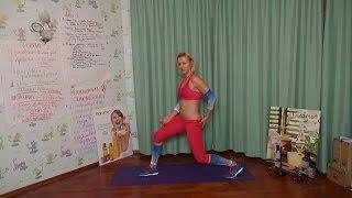 Jump lunge kick (выпад-прыжок-мах) для упругих ягодиц(Искренне благодарю Вас за просмотр и Ваши лайки, и рекомендую читать описание к ролику на моем сайте http://magico..., 2013-12-13T00:54:01.000Z)