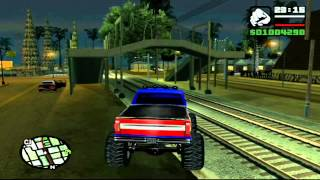 [HU] Grand Theft Auto San Andreas: Monster Truck Glitch