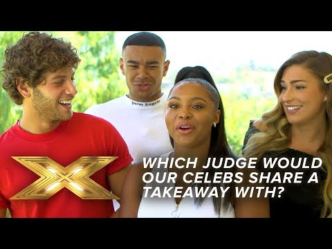 Which Judge would our celebs share a takeaway with?   Just Eat