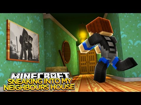 SNEAKING INTO MY NEIGHBOURS HOUSE!!!! - HELLO NEIGHBOUR!