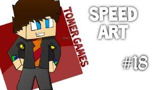 Minecraft Speed Art #18: Tomer