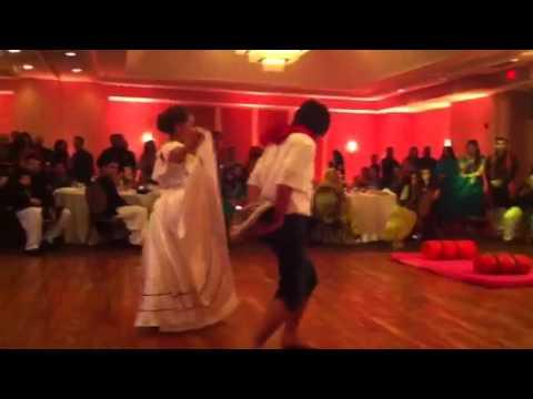 Jenn's wedding:  Erika's Colombian Dance