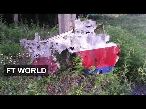 MH17: FT video shows signs of strike