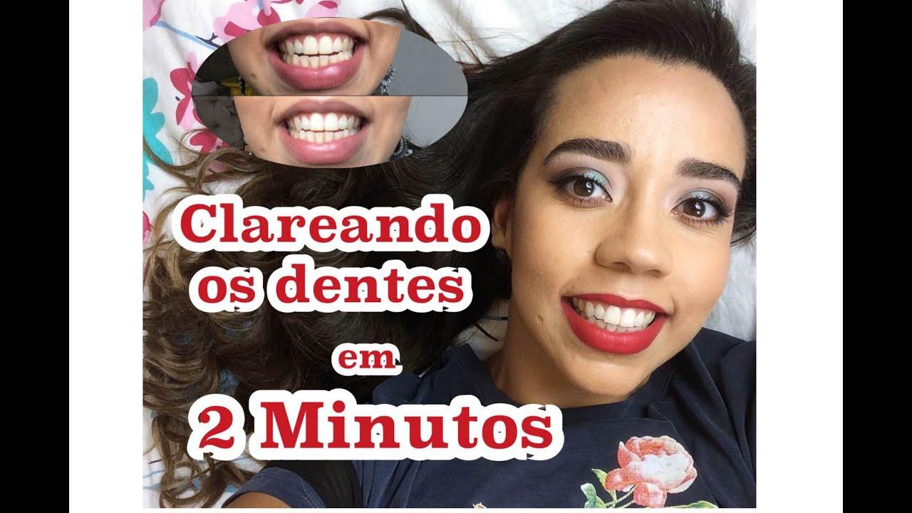 Como Clarear Os Dentes Receitinha Caseira Youtube