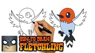 How to Draw Fletchling | Pokemon | Awesome Step-by-Step Tutorial