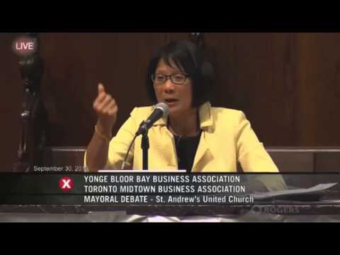 Olivia Chow pushes Renminbi trading hub for Toronto