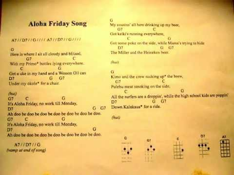 Aloha Friday Song