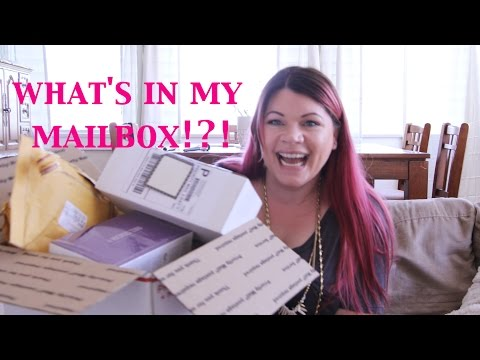 What's in my mailbox!?! | HAUL and unboxing!