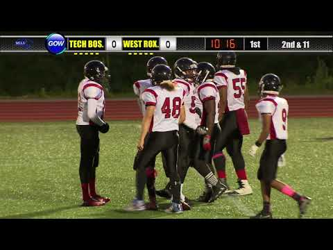 Game of the Week: North Div. 8 Qtr. Finals - Tech Boston vs. West Roxbury