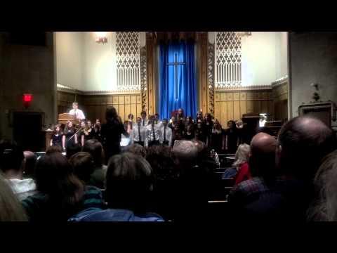 Iowa Christian Academy's winter concert 2012