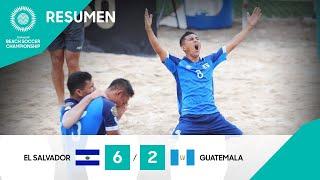 Resumen BSC 2021: El Salvador vs Guatemala