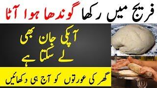 Fridge Mai Rakha Hua Aata Jaan Leva Bhi Ho Skta Hai. Is Video Mai Janain Kaise | TUT