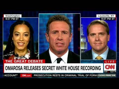 Angela joins CNN's Chris Coumo to discuss diversity in the the White House