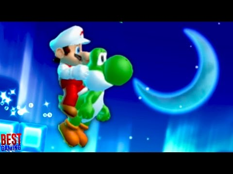 New Super Mario Bros. U Walkthrough - Frosted Glacier 100% Guide (Every Star Coin and Secret Exit)