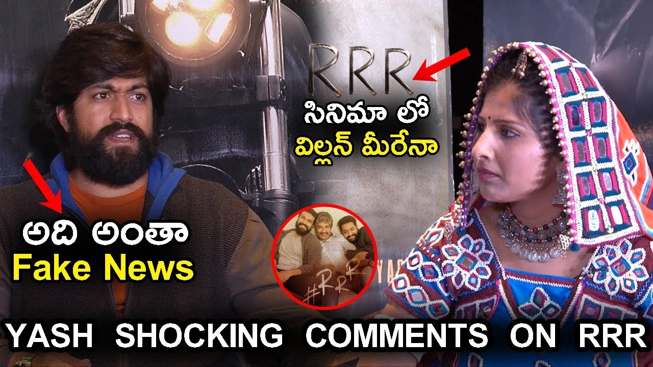 Download Hero Yash Shocking Comments On Rrr Movie Kgf Movie