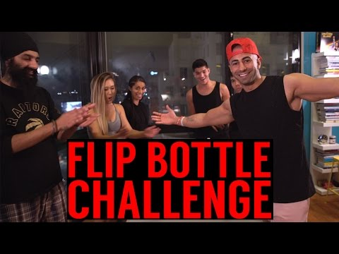 Thumbnail: Insane Flip Bottle CHALLENGE!!