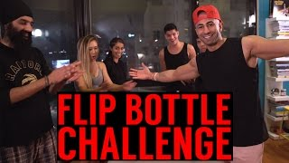 Insane Flip Bottle CHALLENGE!!