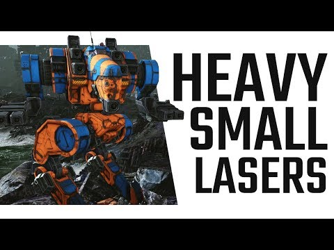 OMG Heavy Small Lasers!!! Viper Backstabbing - Mechwarrior Online The Daily Dose #412