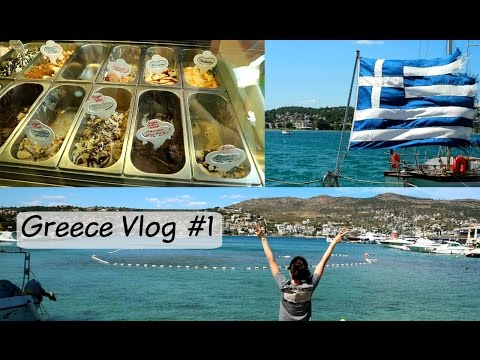 FINDING VEGAN GELATO IN GREECE // Travel Vlog #1