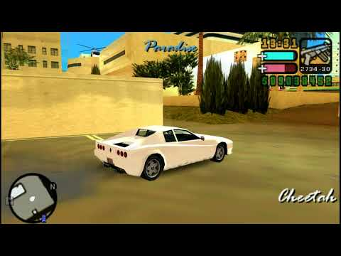 GTA Vice City Stories: How To Find Cheetah Cheetah, Spawn Location