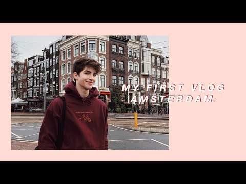 my first vlog | amsterdam