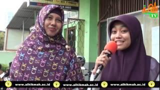 AL HIKMAH TV. TESTIMONI MAHASISWI STIDDI AL-HIKMAH..