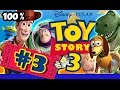 Disney's Toy Story 3 Walkthrough Part 3 - 100% (PS3, X360, Wii) Level 3 - Buzz Video Game