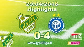 JyPK - HJK 29.04.2018 Highlights!