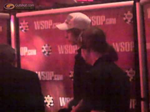 Viktor Blom (aka Isildur1) refusing interview after exiting WSOPE in 16th place