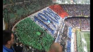 Coreo e CHI NOI SIAMO!!! Inter Chievo Verone 09/05/2010