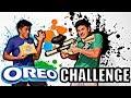 OREO TASTE TEST CHALLENGE**LOSER SHOT WITH PAINTBALL GUN**