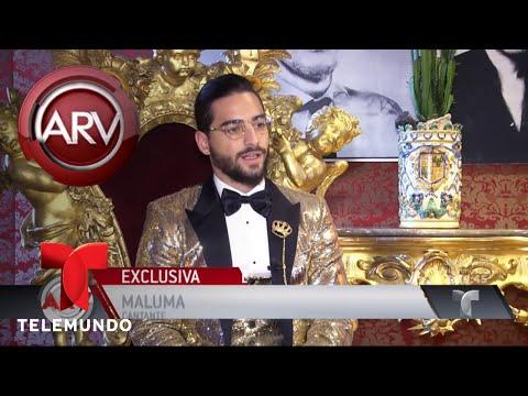 Maluma brilla en las pasarelas de Milán | Al Rojo Vivo | Telemundo